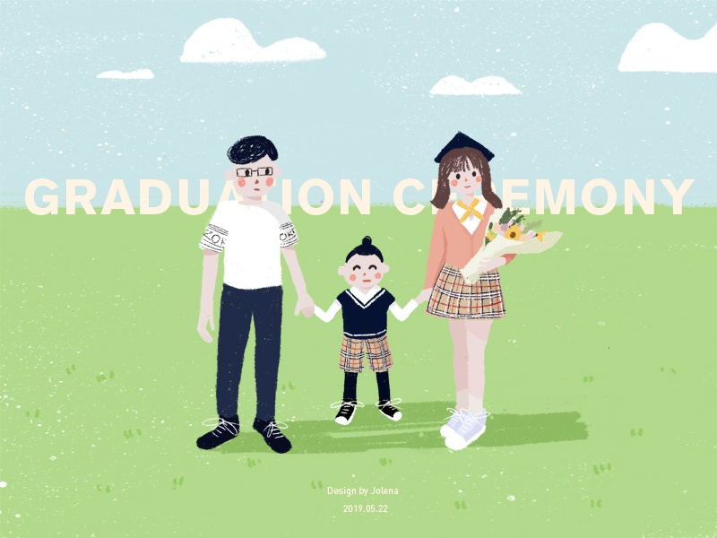 Graduation Ceremony illustration