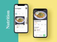 Contrast color food order application