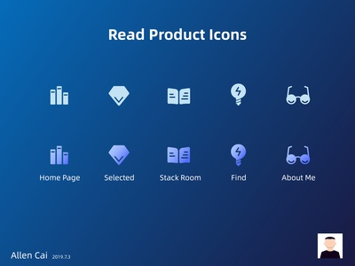 Read Product Icons