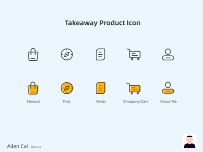 Takeaway product Icon