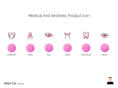 Medical And Aesthetic Product Icon