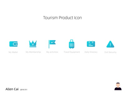 Tourism Product Icon