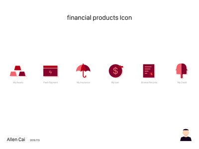 Financial product icon