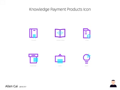 Knowledge Payment  Produce Icon