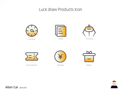 Luck Draw Product Icon