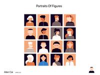 Portraits Of Figures