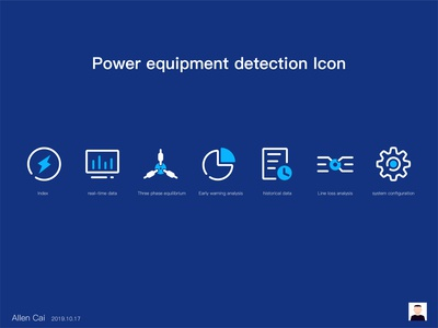 Power equipment detection Icon