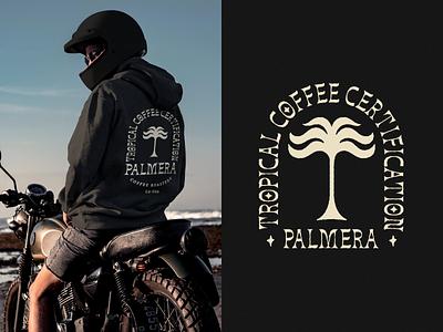 Palmera Merchandising typography logo illustration branding graphic design design