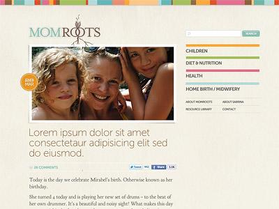 Pro Bono Mom Blog: Layout