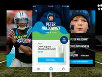 NFL FUTP60 Mobile App Concept