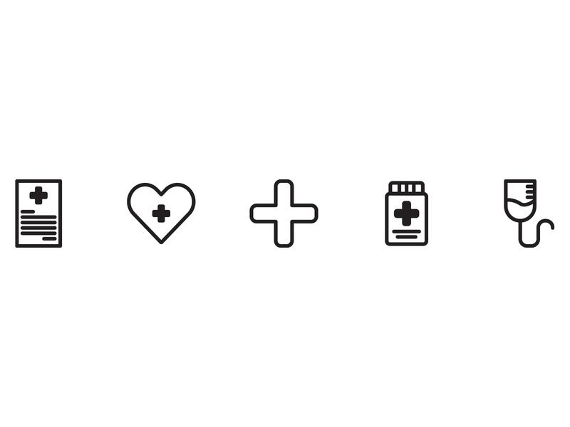 Medical Icon ui button design icon set icon design icon