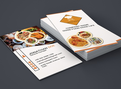 Restarurant business card