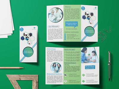 Trifold brochure logo trifold brochure graphicdesign creative brochure bifold flyer business card design