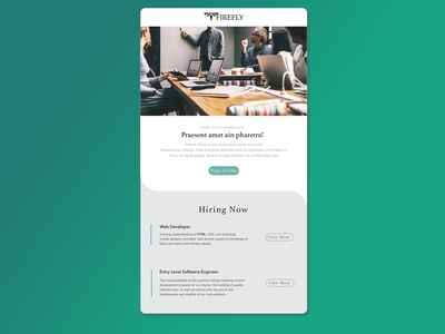 Email Template Tech Firefly