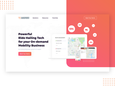 Ride Hailing website