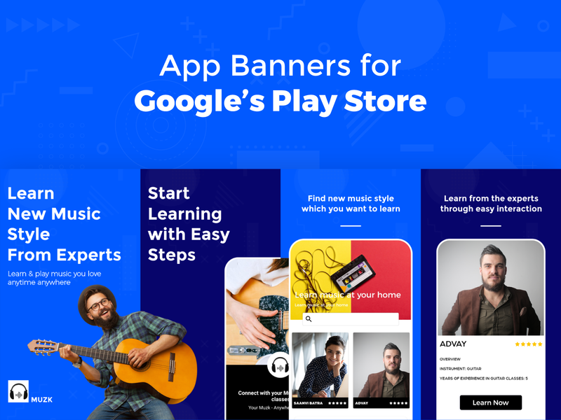 Google's Play Store Banners
