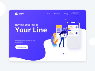 Review website concept