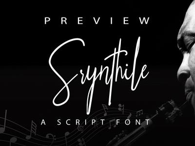 Srynthile Signature Font