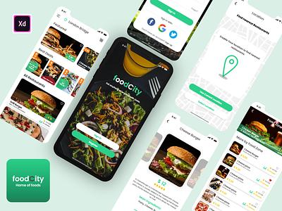 Food App restaurant app restaurant mobile app design uiuxdesign minimal new design modern design ui design design app design mobile app uiux food apps food app design food app ui mobile ui ux ui food app