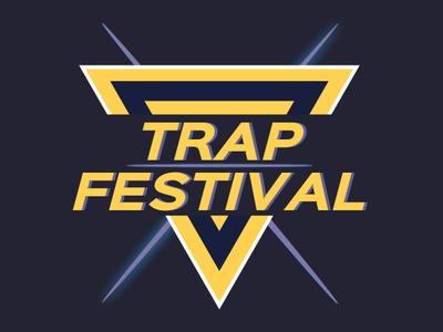 Trap Festival festival bass music logo trap