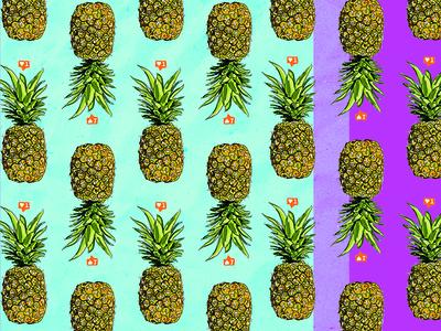 Pineapple Pattern.
