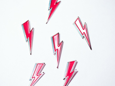 David Bowie Enamel Pins