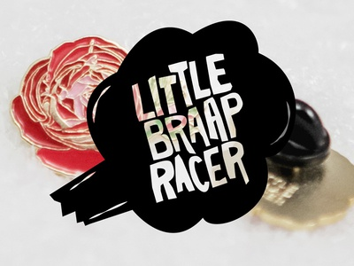 Final Little Braap Racer logo