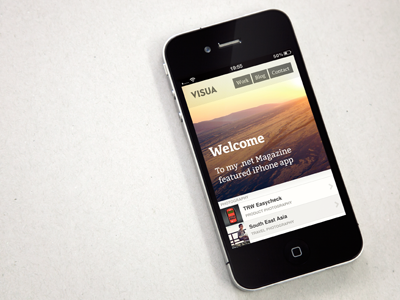 Dribbble visua iphone net mag