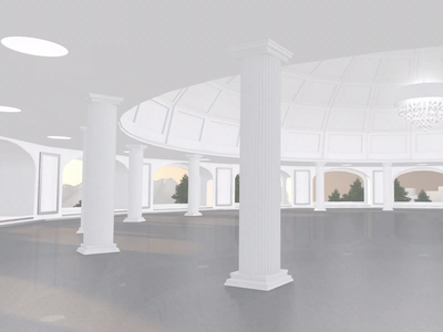AllSeated VR - Venue Selection Lobby model sunrise oculus virtual reality vr venue lobby design animation cinema 4d c4d 3d