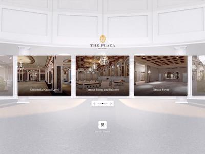 VR UI Prototype venue ui unity oculus sunrise transition animation 3d lobby hotel virtualreality webvr vr