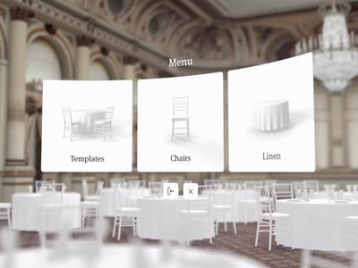 AllSeated VR cinema4d virtualreality vr venue c4d unity editor plaza hotel animation 3d