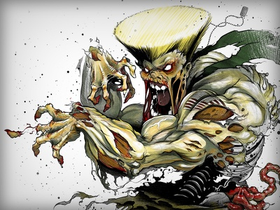 Guile - Zombie zombie guile art drawing sketch pencil illustration rough street fighter