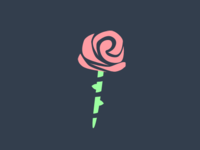 Rose With Stem