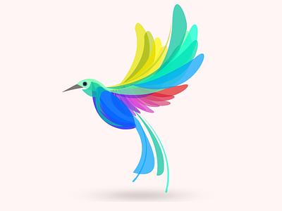 Summer Bird mark fly sucess freedom color bird freebee freevector free hummingbird
