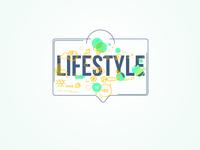 Lifestyle sun fruit tree ecosystem theme organic food lifestyle healthy nature