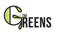The Greens  nuts creative vegetable fruit typography green