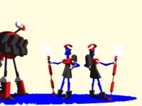 Traktobiki character design