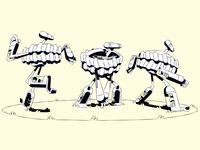 Traktobiki character pose