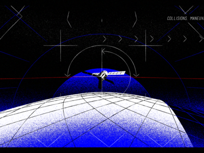 Space Debirs styleframe loop rough 3d space cosmos vector animation 3d harmony styleframe illustration animation animation 2d
