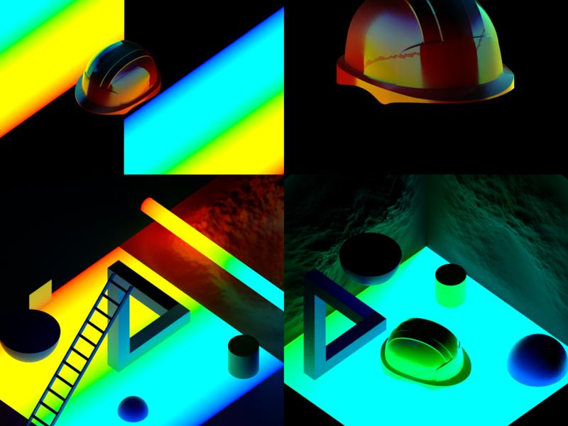 Test Renders carbon design blender 3d animation 3d styleframe illustration project renders test