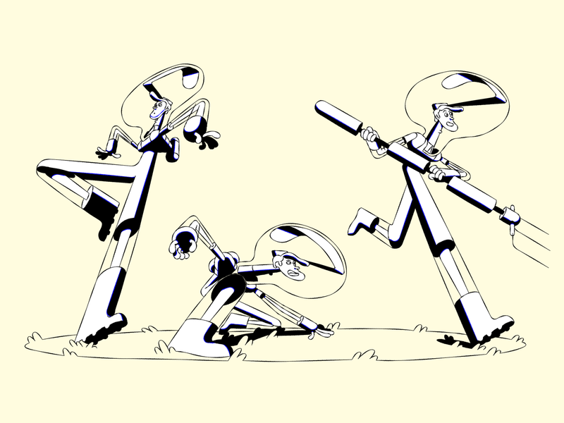 Character action poses action pose design character animation 2d animation