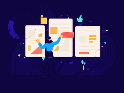 Product design pattern blue flat design ui 2d illustration webdesign productdesign character vector affinity designer