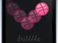 Dribbble iPhone 5 Wallpaper
