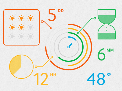 Infographics infographics line simple icons
