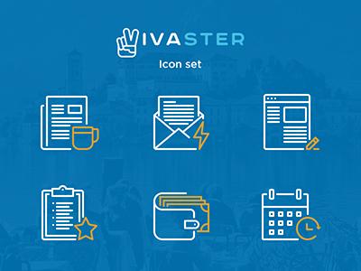 vivaster's icon icon flat