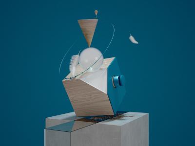 Equilibre cgi object set illustration render octane cinema4d design 3d c4d