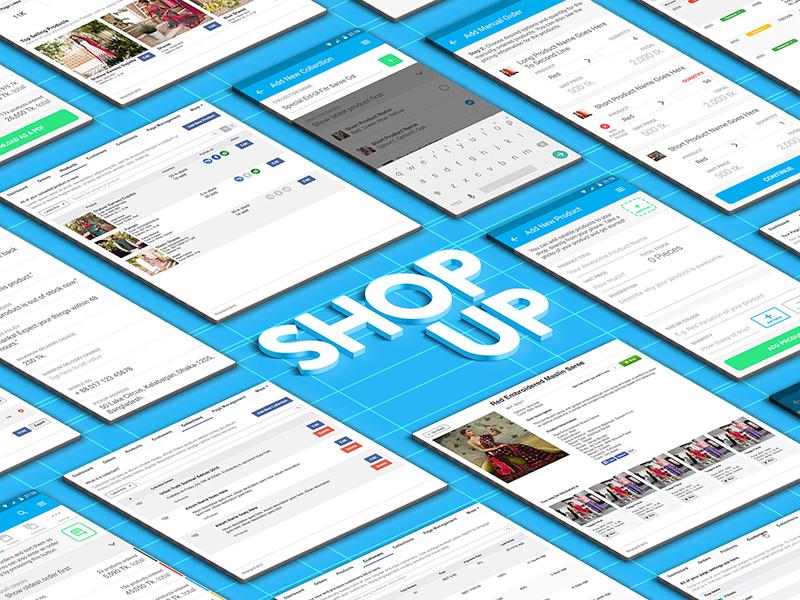 Shopup showcase dribbble