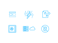 Icons for TidyCMS