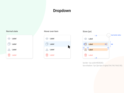 What I am working on? dropdown dropdown menu dropdown ui dropdown colors redesign branding ux ui design app