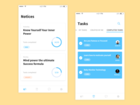 Notices and Tasks app